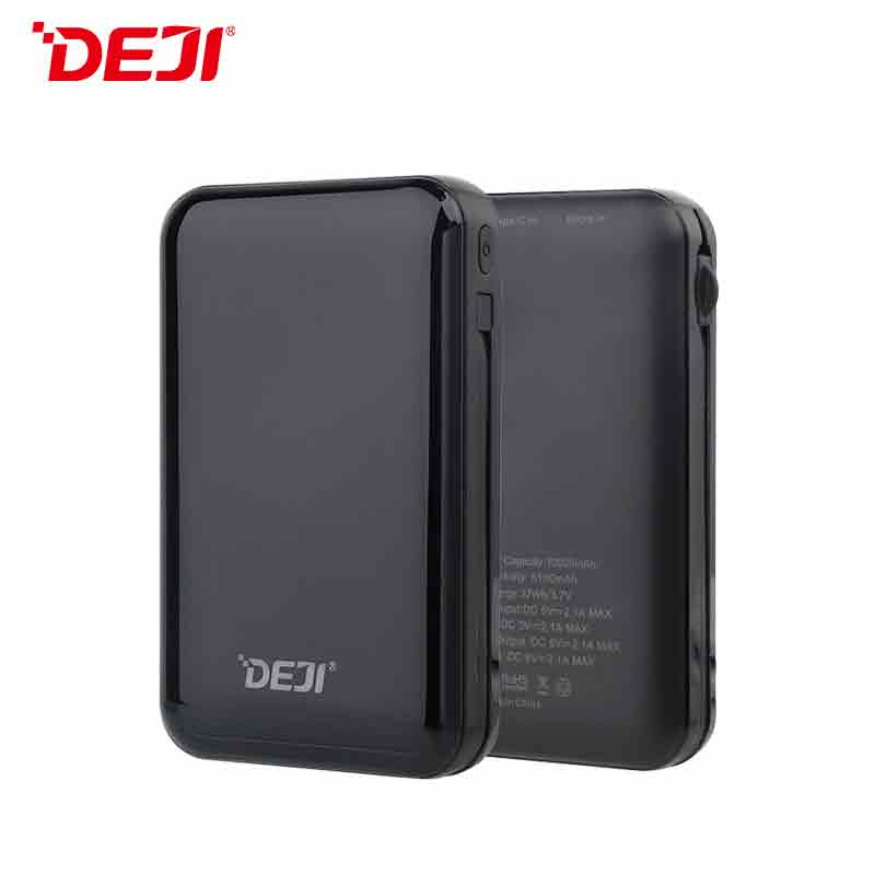 DJ-282 10000mah 5V 2A Two-In-One Power Bank For Android IPhone Phone
